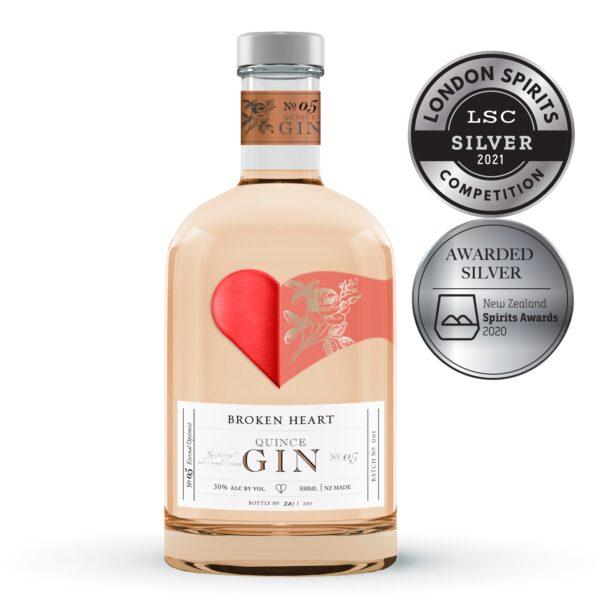 Broken Heart Quince Gin 500ml