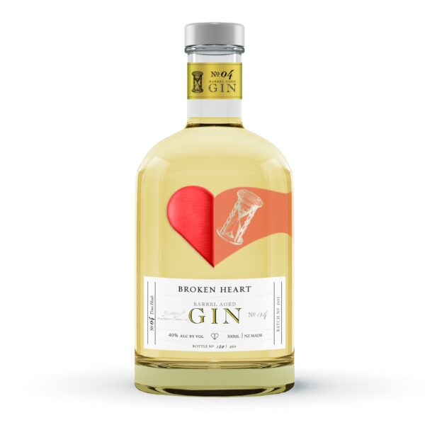 Broken Heart Barrel Aged Gin 500ml – OUT OF STOCK