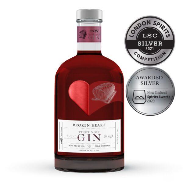 Broken Heart Pinot Noir Gin 500ml