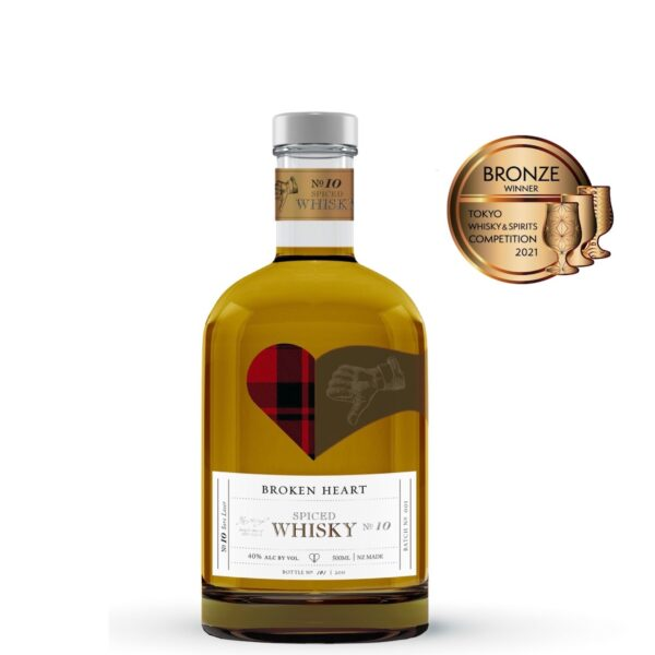 Broken Heart Spiced Whisky 500ml