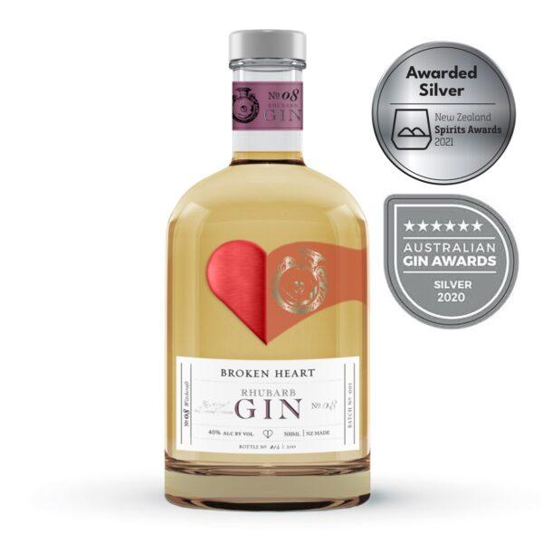 Broken Heart Rhubarb Gin 500ml